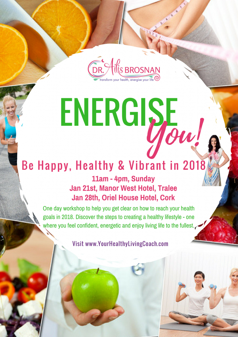 18b3b87a77f7e Energise Workshop Tralee | Your Healthy Living Coach