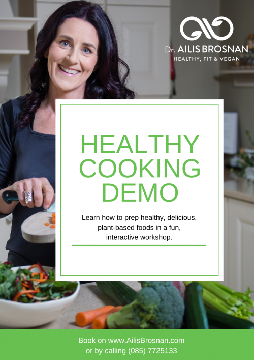 Healthy Cooking Demo
